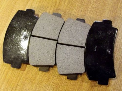 Brake pads, front, Isuzu 117 Coupe, 1.8 & 2.0, 1969-82